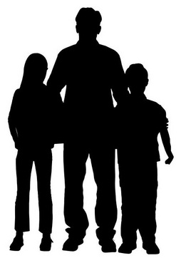 Father-with-son-and-daughter-t26154